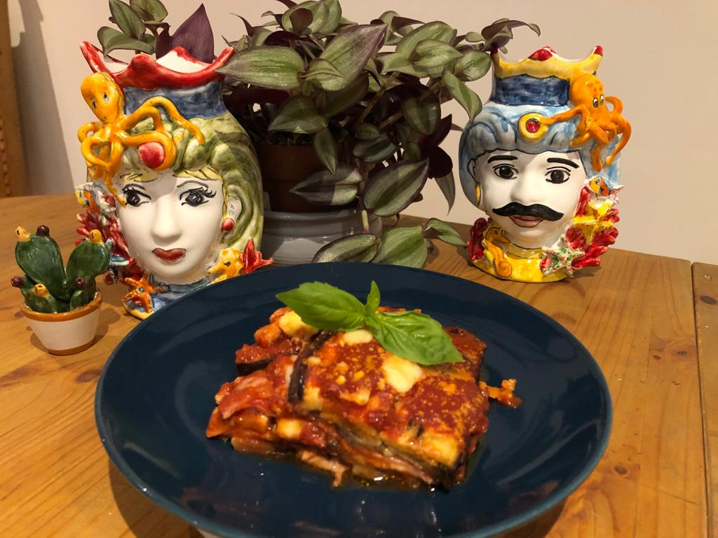 Aubergine Parmigiana: a true Sicilianfavourite!